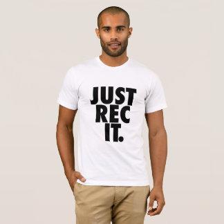 Just Rec It. Men's Front/Back T-Shirt. T-Shirt