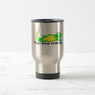 Just Retired Travel Mug