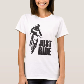 Just Ride Motorcycle T-Shirt