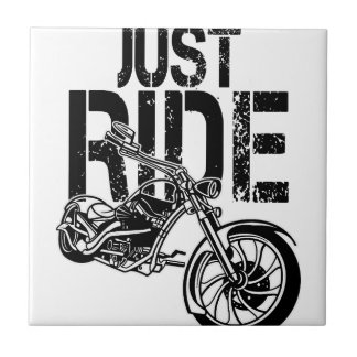 JUST RIDE TILE