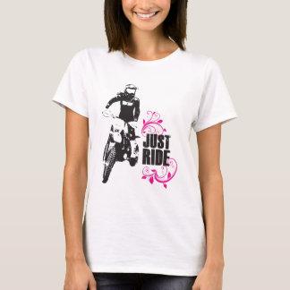 Just Ride - Women's Mx Dirtbike Shirt