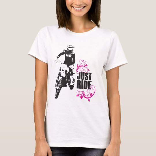 Just Ride - Women's Mx Dirtbike Shirt