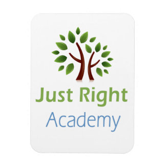 Just Right Academy Car Magnet