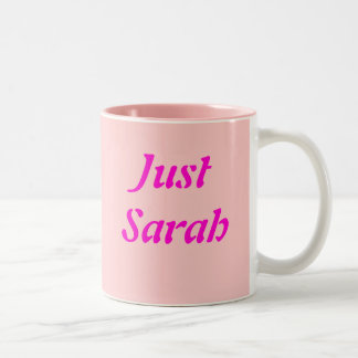 Just Sarah Two-Tone Coffee Mug
