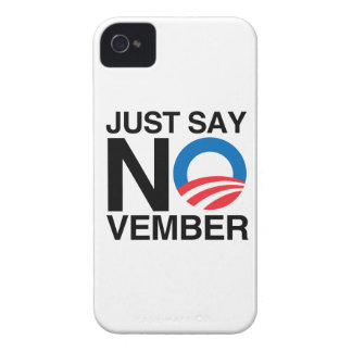 JUST SAY NOVEMBER iPhone 4 CASES