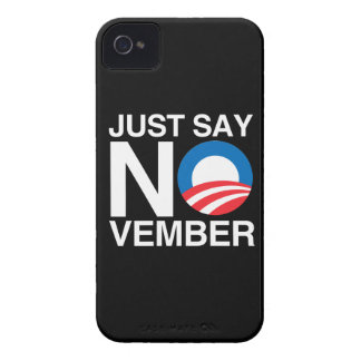 JUST SAY NOVEMBER Case-Mate iPhone 4 CASE