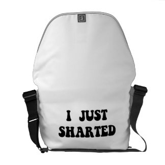 Just Sharted Commuter Bags
