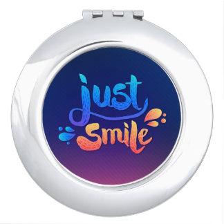 Just Smile Compact Mirrors