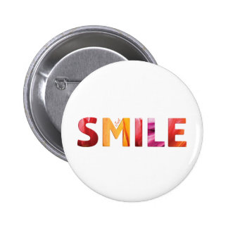 Just Smile Happy Quote 04 2 Inch Round Button