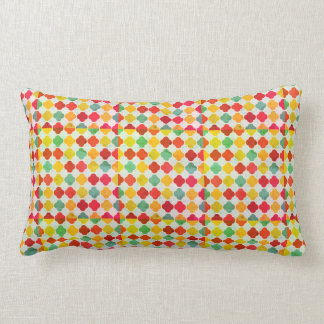 Just Smile Quatrefoil Lumbar Pillow