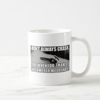 Just Snowmobiles Merch Coffee Mug