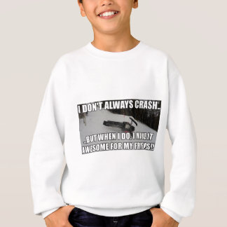 Just Snowmobiles Merch Sweatshirt