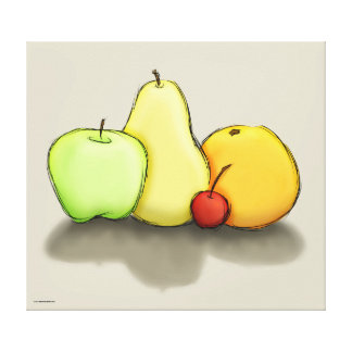 Just Some Fruit Canvas Print