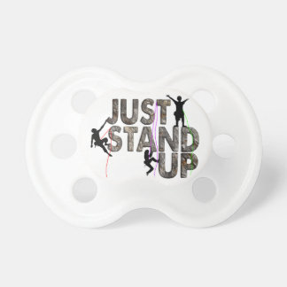 Just Stand Up Baby Pacifiers