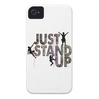 Just Stand Up iPhone 4 Cases