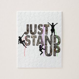 Just Stand Up Jigsaw Puzzle