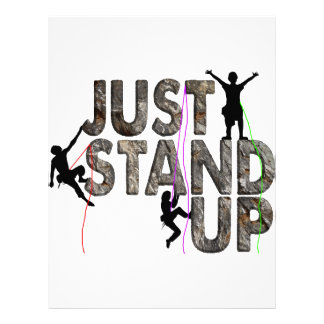 Just Stand Up Letterhead