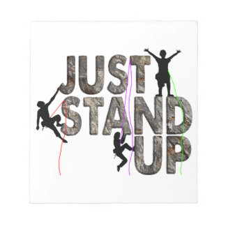 Just Stand Up Notepad