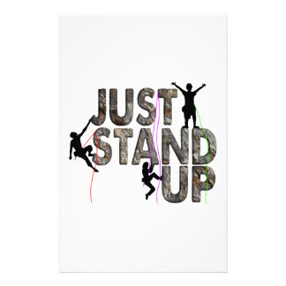 Just Stand Up Stationery