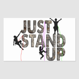 Just Stand Up Sticker
