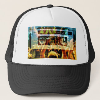 Just Stop And Listen NOW Trucker Hat