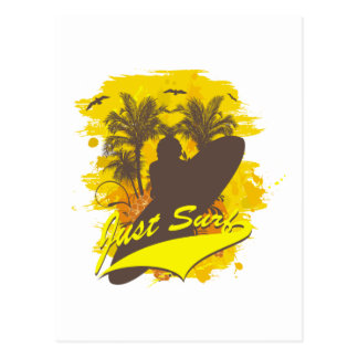 Just Surf Postcard