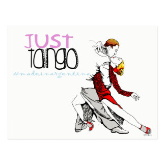 Just Tango Made in Argentina Postcard