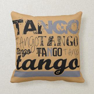 Just Tango Throw Pillow