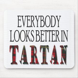 just tartan mouse pad