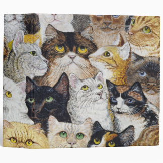 Just the Cat's Whisker Binder