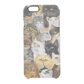 Just the Cat's Whisker Clear iPhone 6/6S Case