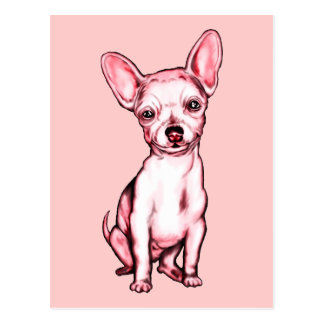 Just the Chihuahua Postcard
