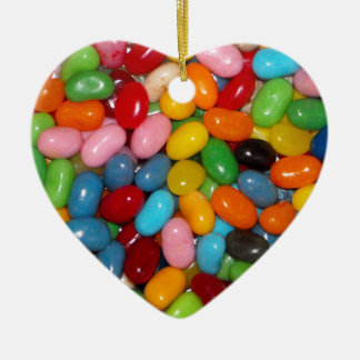Just The Jelly Beans Ceramic Ornament