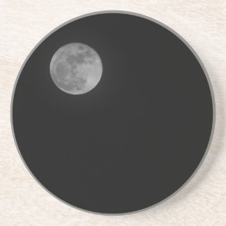 Just the Moon Drink Coaster