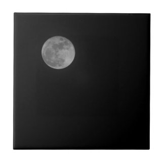 Just the Moon Tile