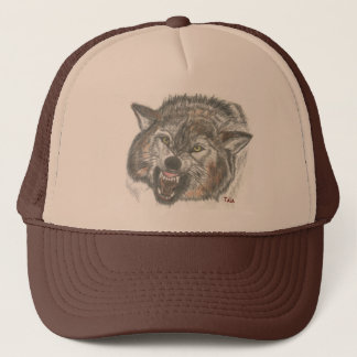 Just the Wolf, trucker hat