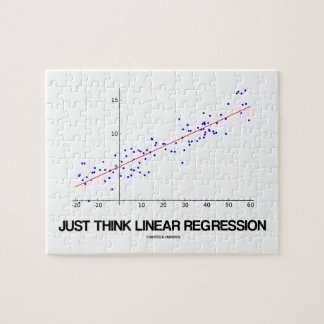 Just Think Linear Regression (Statistics) Jigsaw Puzzle