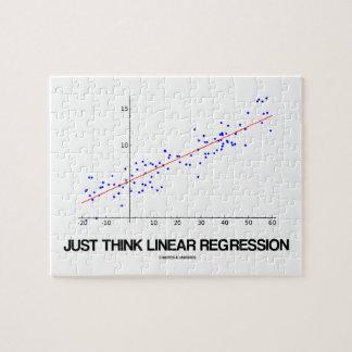Just Think Linear Regression (Statistics) Jigsaw Puzzle