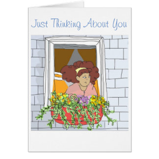 Just Thinking About You. Greeting Card