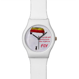 Just to know how it feels to fly wristwatch