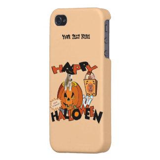 Just Too Cute Westie Puppy, Peeking Out of Pumpkin iPhone 4/4S Case