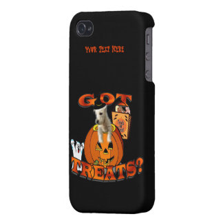Just Too Cute Westie Puppy, Peeking Out of Pumpkin iPhone 4/4S Cases