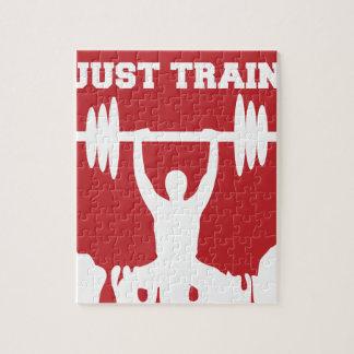 Just train jigsaw puzzle