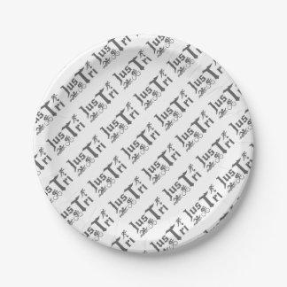 Just Tri Mug Paper Plate