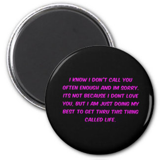JUST TRYING TO GET THROUGH LIFE MENOPAUSE EMO FRIE 2 INCH ROUND MAGNET