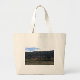 Just Turning Leaves Large Tote Bag