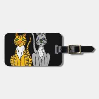Just Two Innocent Cats... Luggage Tag