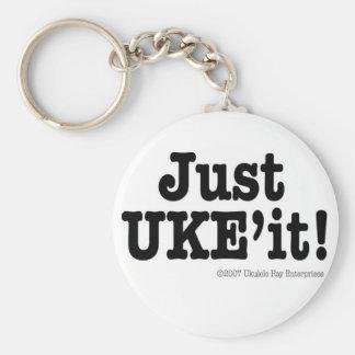 Just UKE'it! Designer Keychain