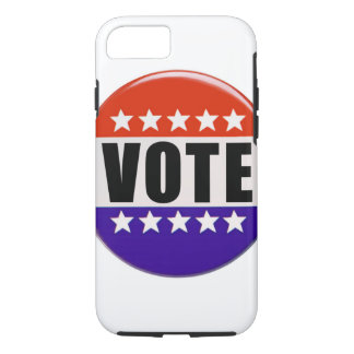 Just Vote iPhone 7, Tough Phone Case