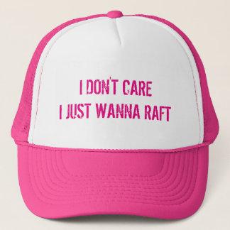 Just Wanna Raft Trucker Hat